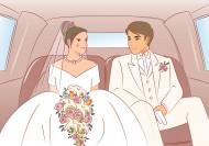 婚礼情景卡通矢量图片_33张