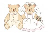 結婚用品卡通插畫矢量圖片_21張