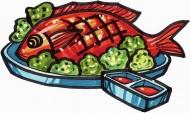 卡通美食圖片_24張