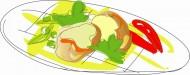 卡通快餐矢量圖片_18張