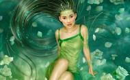 美女CG插畫圖片_26張