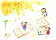 卡通童年的美麗時光矢量圖片_50張