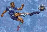 卡通足球運動插畫矢量圖片_7張