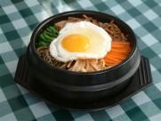 特色韩国石锅拌饭图片_12张