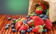 美味蓝莓食物图片_22张