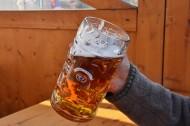 玻璃杯中的啤酒图片_13张