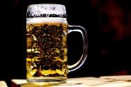 玻璃杯中的啤酒图片_16张