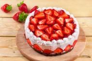 草莓蛋糕图片_26张