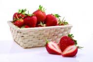 草莓特写图片_22张