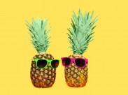 創意形像的菠蘿圖片_15張