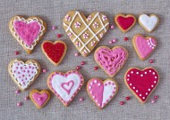 创意心形饼干图片_12张