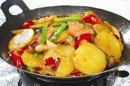 美味的家常干鍋土豆片圖片_9張