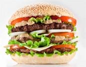 美味可口的汉堡包图片_22张