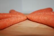 新鲜橙色胡萝卜图片_13张