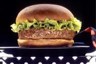 美味好吃的火腿汉堡图片_11张