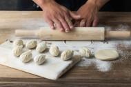 美味饺子制作过程图片_10张