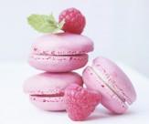 粉色甜点马卡龙图片_10张