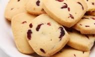 美味蔓越莓曲奇饼干图片_5张