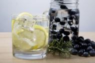 檸檬藍莓汁圖片_31張