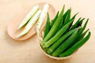 绿色营养的秋葵图片_13张