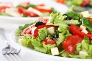 色彩斑斕的蔬菜沙拉圖片_18張