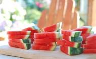夏日清涼可口的西瓜圖片_27張