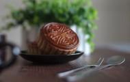 中秋节好吃的月饼图片_12张