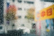 窗外的雨滴图片_11张