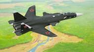 """蘇-47""""金鷹""""戰斗機圖片_6張"""