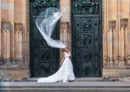 穿著婚紗的女人圖片_12張