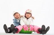 儿童冬季休闲图片_80张