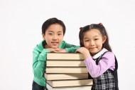 兒童和書籍圖片_39張