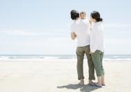 父母带宝宝去海边游玩图片_23张