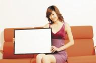 美女与白板、各种站立和坐的姿势图片_147张