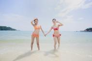 海滩女孩图片_80张