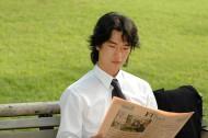 男性白领读书看报图片_21张