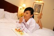 女性酒店度假图片_64张