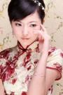 旗袍服饰造型图片_56张