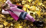秋天的儿童图片_8张