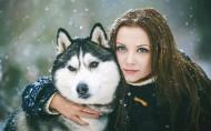 人与狗狗的亲密图片_21张