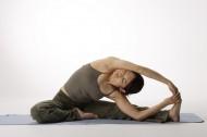 室内瑜伽图片_56张