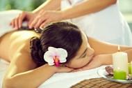 享受spa按摩的美女图片_11张