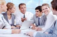 團隊合作討論工作的同事們圖片_15張