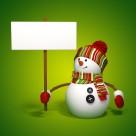 3D圣诞小雪人设计图片_24张