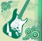 吉他音樂背景圖片_27張