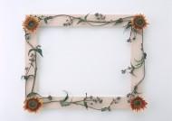 木質邊框與花草圖片_14張