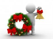 圣诞节3D小人图片_12张