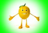 微笑的柠檬3D设计图片 _11张