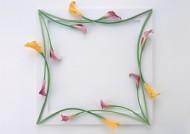 缠绕相框的花朵图片_14张
