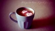 杯子里的愛心圖片_25張